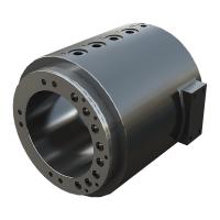 hydraulische drehdurchführung für Maschinen und Anlagen für Beton